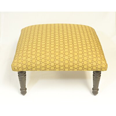 Maxine Soho Accent Stool Color: Brown/Gold