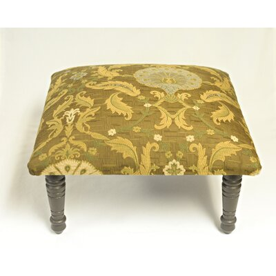 Maxine Peacock Medallion Accent Stool