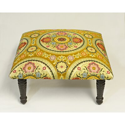 Maxine Rio Brocade Medallion Accent Stool
