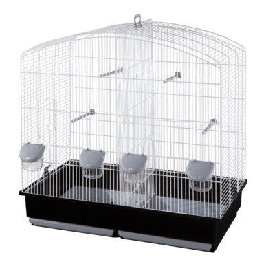 Voltrega Cynthia Divider Bird Cage in White