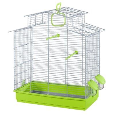 Voltrega Phoebe Bird Cage in Grey