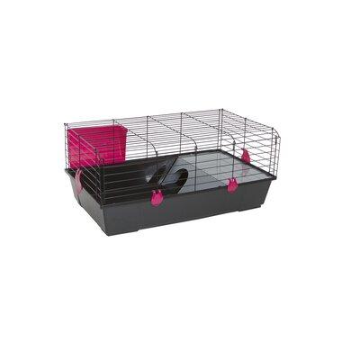 Voltrega Folding Rabbit Cage in Black