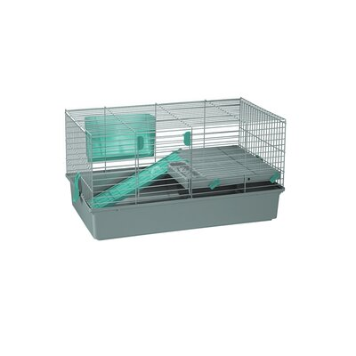 Voltrega Amanda Rabbit Cage in Grey and Pistachio