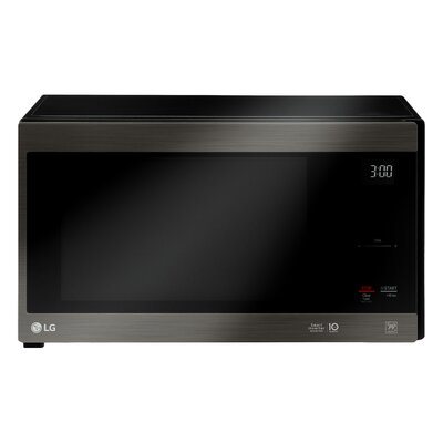 """NeoChef 21"""" 1.5 cu.ft. Countertop Microwave Finish: Stainless Steel Black"""
