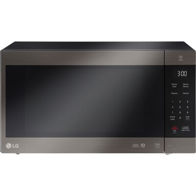 NeoChef 2.0 cu. ft. Countertop Microwave Color: Black Stainless Steel