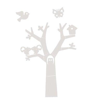 Woood Wanddeko Try With Owl