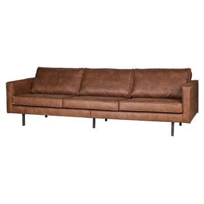 Woood 3-Sitzer Einzelsofa Be Pure aus Leder