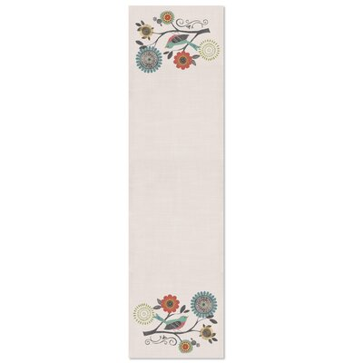 """Chongtham Table Runner Size: 16"""" W x 60"""" L"""