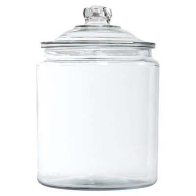 Two's Company Cupcakes and Cartwheels 256-Ounce Caravan Display Jar with Lid