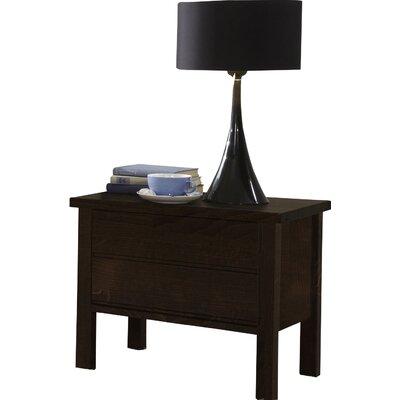 Dico Moebel Nachttisch mit 2 Schubladen