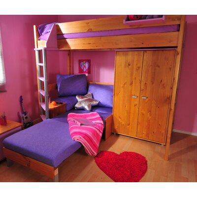 Stompa European Single L-Shaped Bunk Bed