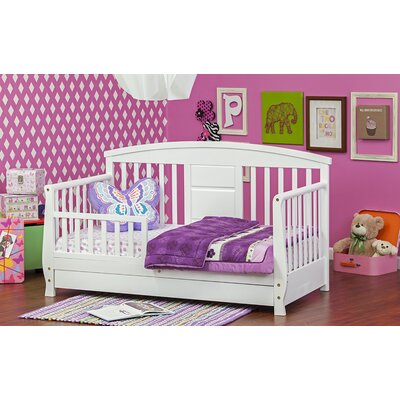Deluxe Toddler Daybed with Storage Color: White