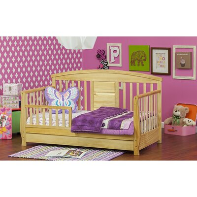 Deluxe Toddler Daybed with Storage Color: Natural