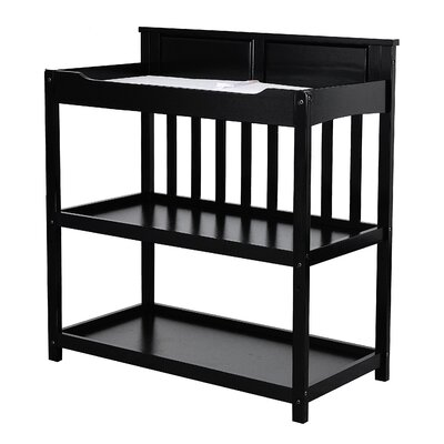 Zoey Convertible Changing Table Color: Black