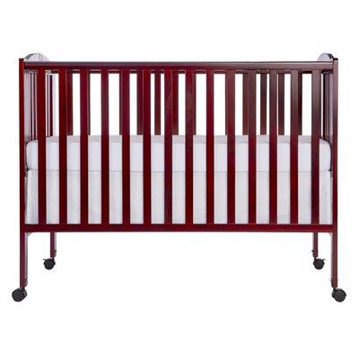 Folding Portable Crib Color: Cherry