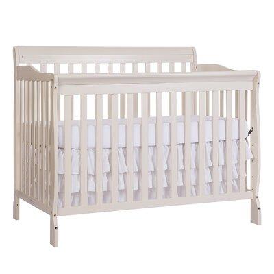Rudd 5-in-1 Convertible Crib Color: Pearl