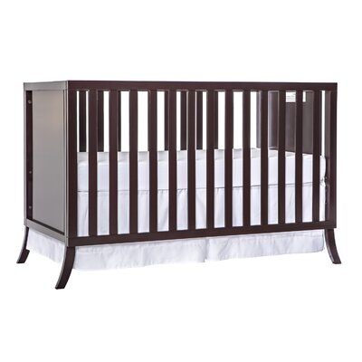 Madrid 5-in-1 Convertible Crib Color: Chocolate