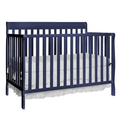 Clairview 4-in-1 Convertible Crib Color: Royal Blue