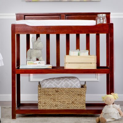 Zoey Convertible Changing Table Color: Cherry