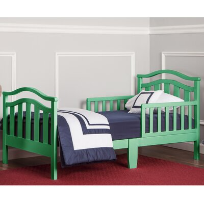 Dream on Me Elora Convertible Toddler Bed Bed Frame Color: Emerald