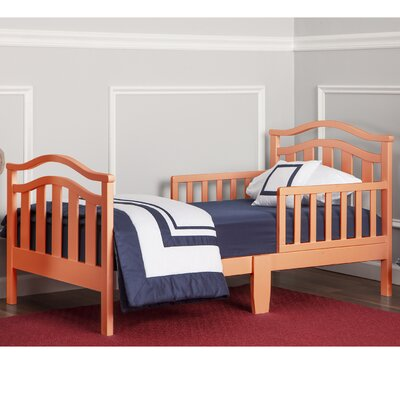 Dream on Me Elora Convertible Toddler Bed Bed Frame Color: Fusion Coral