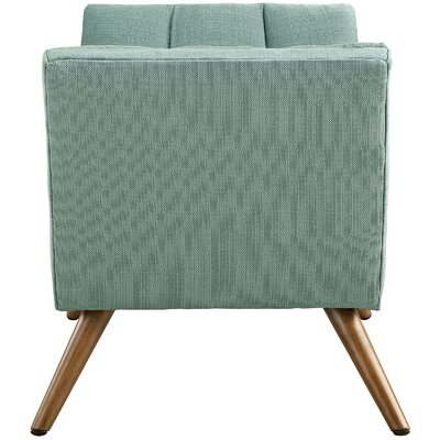 Freeborn Upholstered Bench Upholstery Color: Laguna