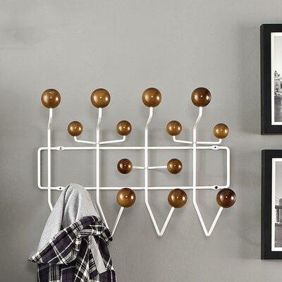 Gumball Wall Mounted Coat Rack Color: Caramel