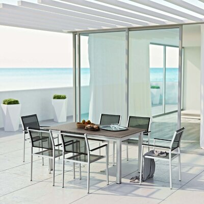 Coline 7 Piece Outdoor Dining Set