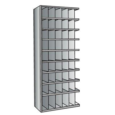 "Hi-Tech Bin 87"" H 9 Shelf Shelving Unit Add-on Size: 18"" D"