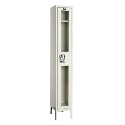 Hallowell Safety-View 1 Tier 1 Wide Contemporary Locker