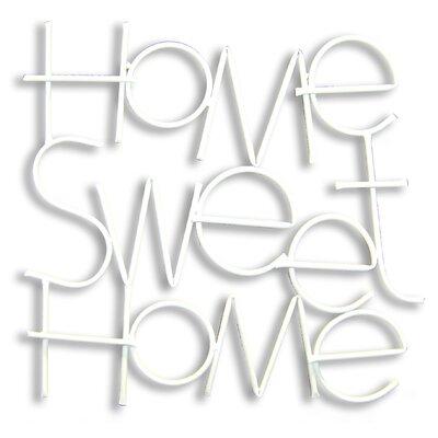 Graham & Brown Metallic Sweet Home Wall Decor