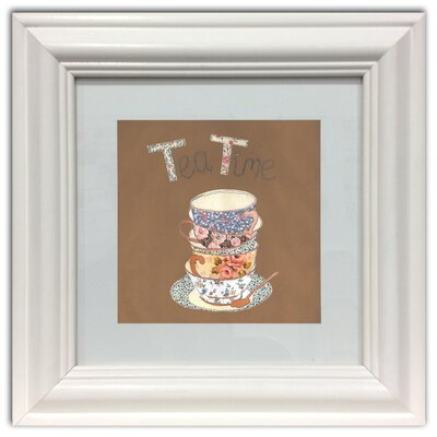 Graham & Brown Tea for Two Framed Graphic Art