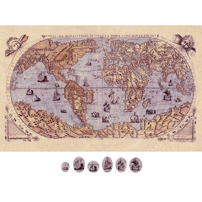 Graham & Brown Magnetic World Map Graphic Art