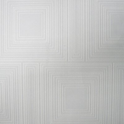 Graham & Brown Square Panel 10m L x 52cm W Roll Wallpaper
