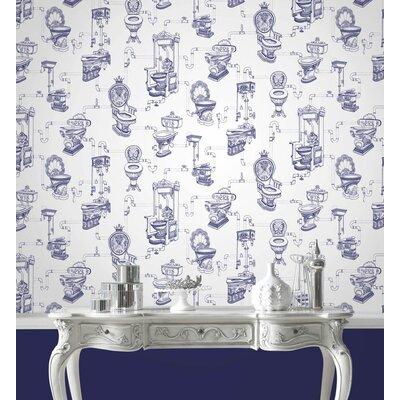 Graham & Brown Loo Loo 10m L x 52cm W Roll Wallpaper
