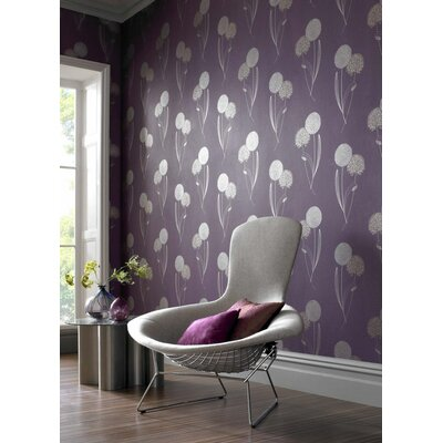 Graham & Brown Alium 10m L x 52cm W Roll Wallpaper