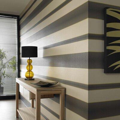 Graham & Brown Verve Stripe 10m L x 52cm W Roll Wallpaper