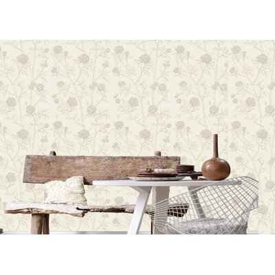 Graham & Brown Hua 10m L x 52cm W Roll Wallpaper