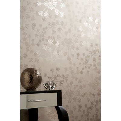Graham & Brown Buttermilk Sparkle 10m L x 52cm W Roll Wallpaper