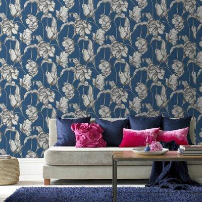 Graham & Brown Tulips LLB Harem 10m L x 52cm W Roll Wallpaper