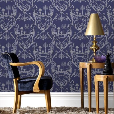 Graham & Brown Damquerade 10m L x 52cm W Roll Wallpaper