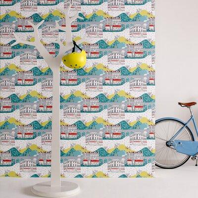 Graham & Brown Tour De Yorks 10m L x 52cm W Roll Wallpaper