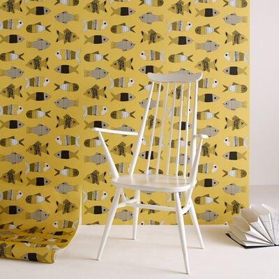 Graham & Brown Fishes 10m L x 52cm W Roll Wallpaper
