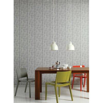 Graham & Brown Dove Wonky Boxes 10m L x 52cm W Roll Wallpaper