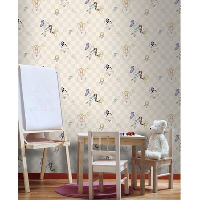 Graham & Brown Heirloom Multi 10m L x 52cm W Roll Wallpaper