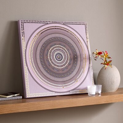 Graham & Brown Exotic Sequin Graphic Art on Canvas
