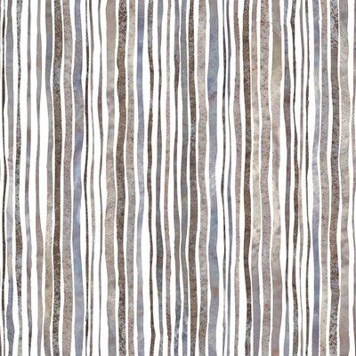 Graham & Brown Natural Coffee Stripe 10m L x 52cm W Roll Wallpaper