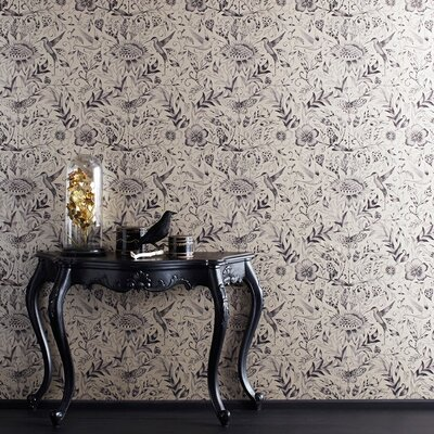Graham & Brown Gold Paradisi 10m L x 52cm W Roll Wallpaper