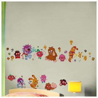Graham & Brown Moshi Monsters Wall Sticker Art