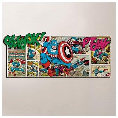 Graham & Brown Marvel 3D Vintage Advertisement on Canvas